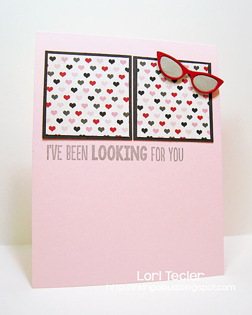 I've Been Looking for You card-designed by Lori Tecler/Inking Aloud-stamps and dies from My Favorite Things