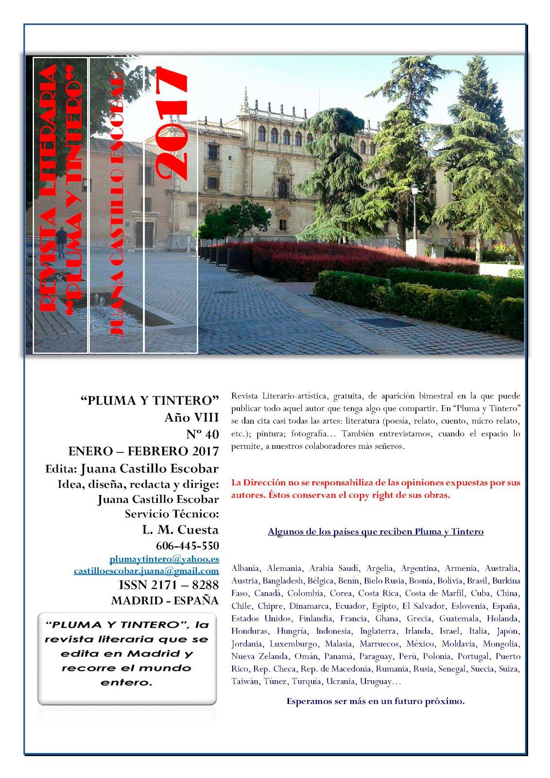Revista Nº 40 - Año VIII - ENERO-FEBRERO 2017