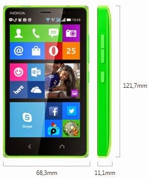 Nokia X2 Dual SIM Android Phone Murah Harga Rp 1 Jutaan