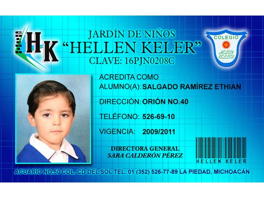 Fotografía Escolar: Credencial