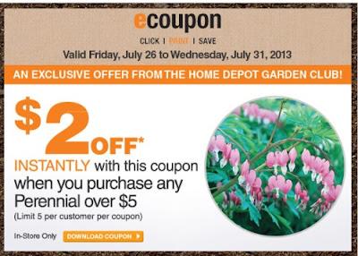 Canadian Daily Deals Home Depot Garden Club 2 Off Perennial Over 5 July 26 31