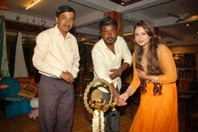South Cine Star Priyanka Shukla  inaugurates CCIC exhibition