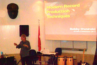 Modern Production Techniques Presentation, Bilkent University ATMM 2012