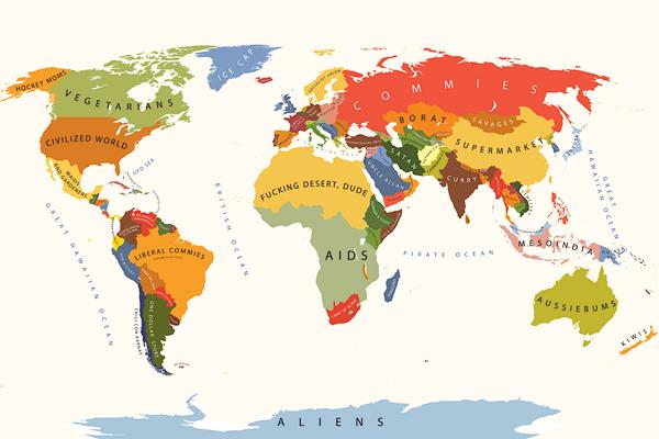 Random Notes Geographeratlarge Map Of The Week The - 2012 world map