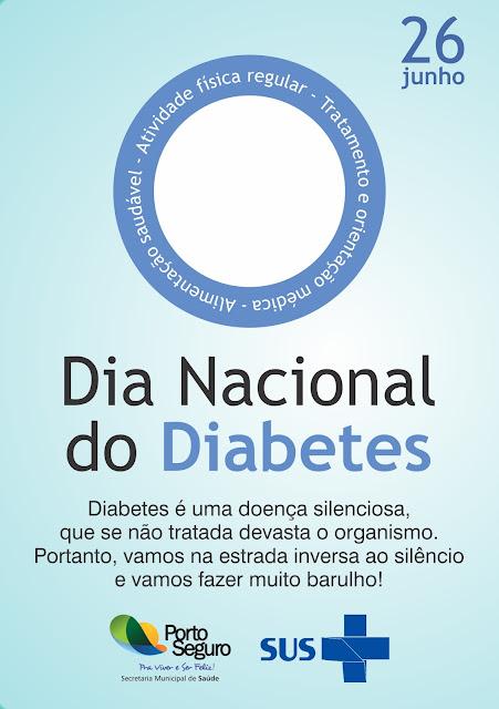 Secretaria de Saúde de Porto Seguro no combate contra diabetes