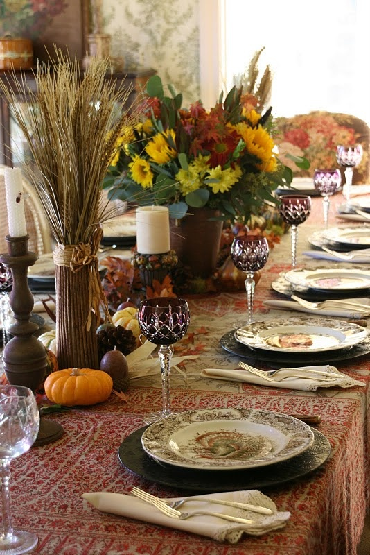 designs for daley living table setting thoughts for thanksgiving. Black Bedroom Furniture Sets. Home Design Ideas