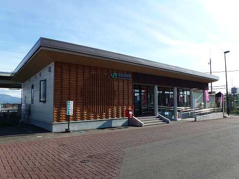 JR東日本 羽後長野駅舎