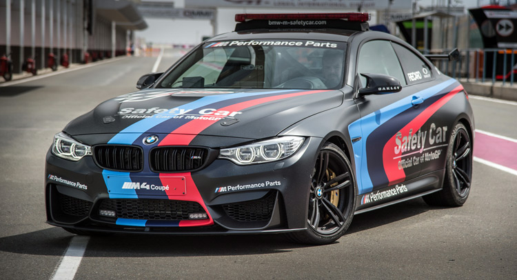 Bmw Debuts m4 Safety Car With