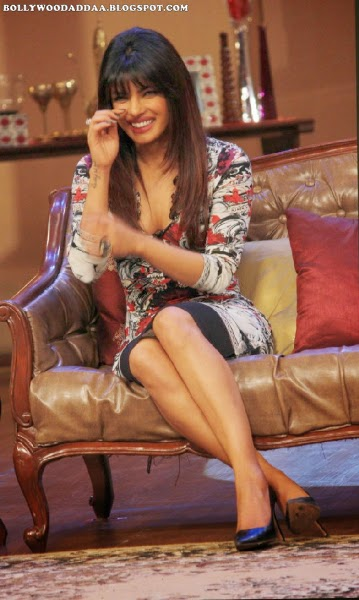 Priyanka Chopra hot bollywood actress iin comedy knights with kapil show on colors TV Hot Pics Unseen