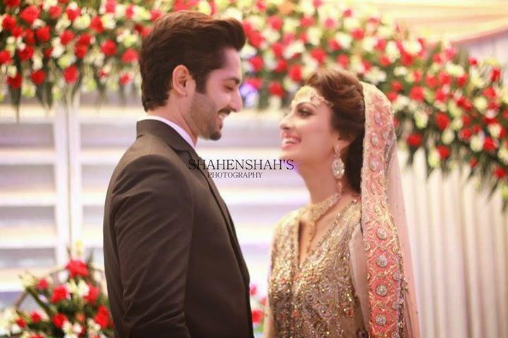 Ayeza Khan & Danish Taimoor Wedding (Walima Pictures)