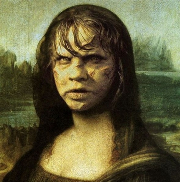 Funny mona lisa pictures