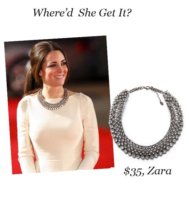 where d she get it kate middleton s zara necklace viva