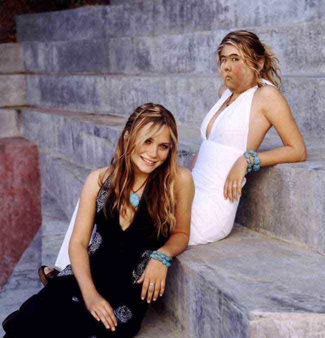 Kate Mary Olsen Twins