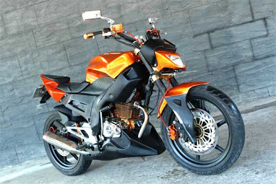 honda tiger modifikasi