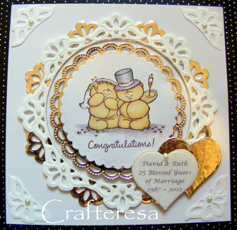 Crafteresa new forever friends anniversary cards