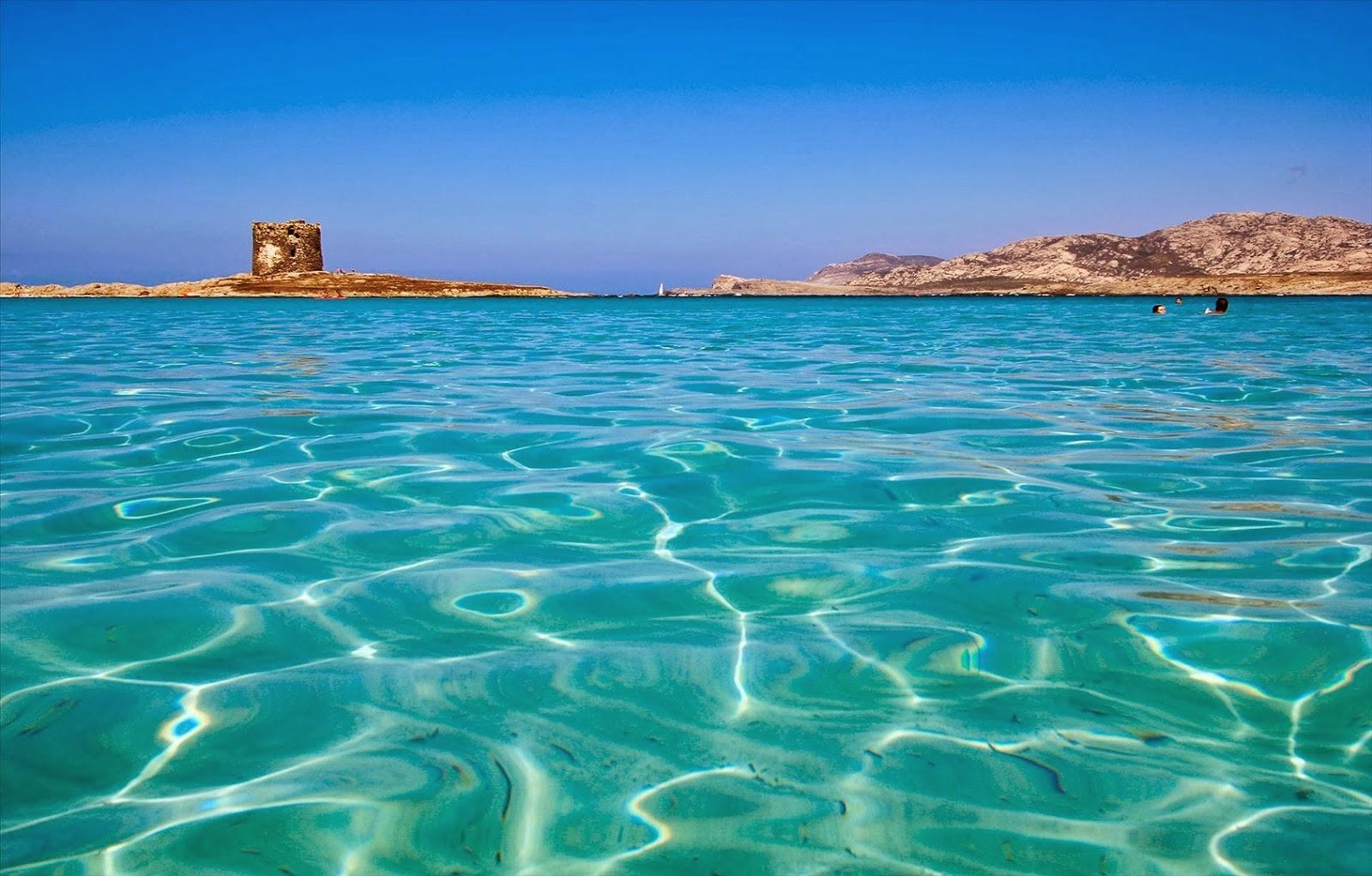 Красив плаж в Италия