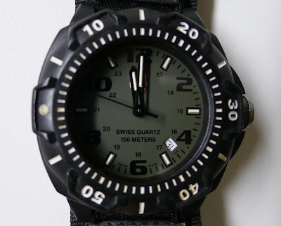 Luminox misaligned