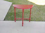 Little Red Table  *SOLD*