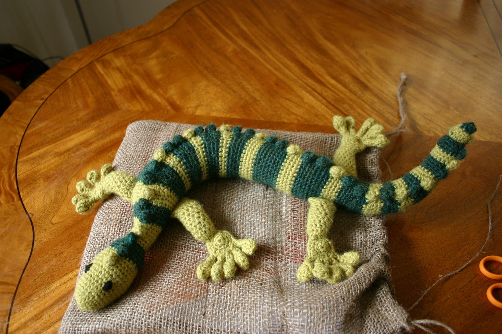 Tasty Crochet: Gecko Frecko