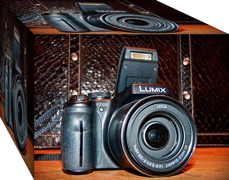 Kamera für gute Urlaubsfotos, Panasonic DMC FZ 48