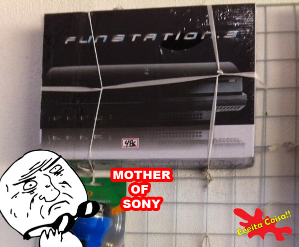 ps3, game, paraguai, meme mother of god,  eeeita coisa