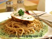 Morčacie prsia so špenátovou omáčkou - recept