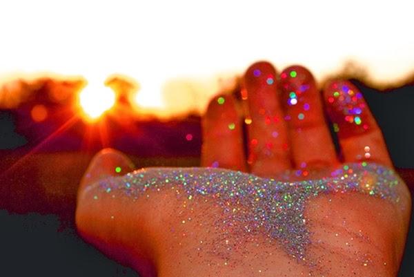 brilho, purpurina, glitter
