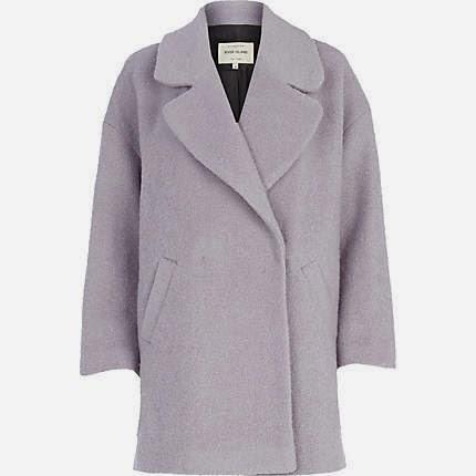 lilac winter coat