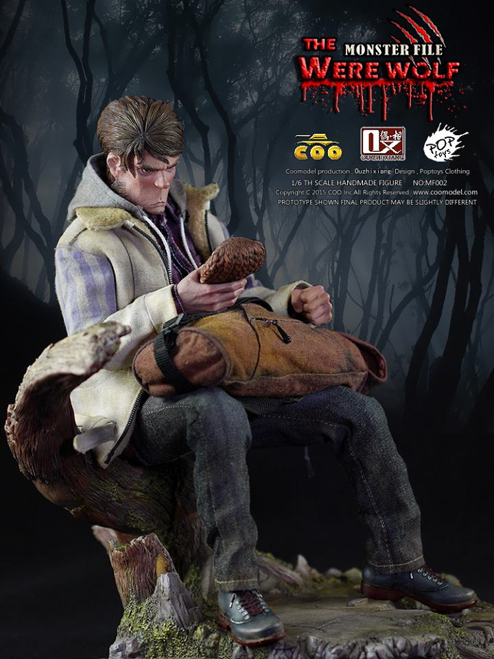 COOMODEL X OUZHIXIANG - Monster File Series - The Were Wolf E17