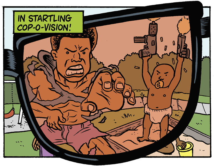 X-Race Spex by Matt Bors