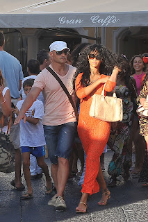 Rihanna and bodyguaard