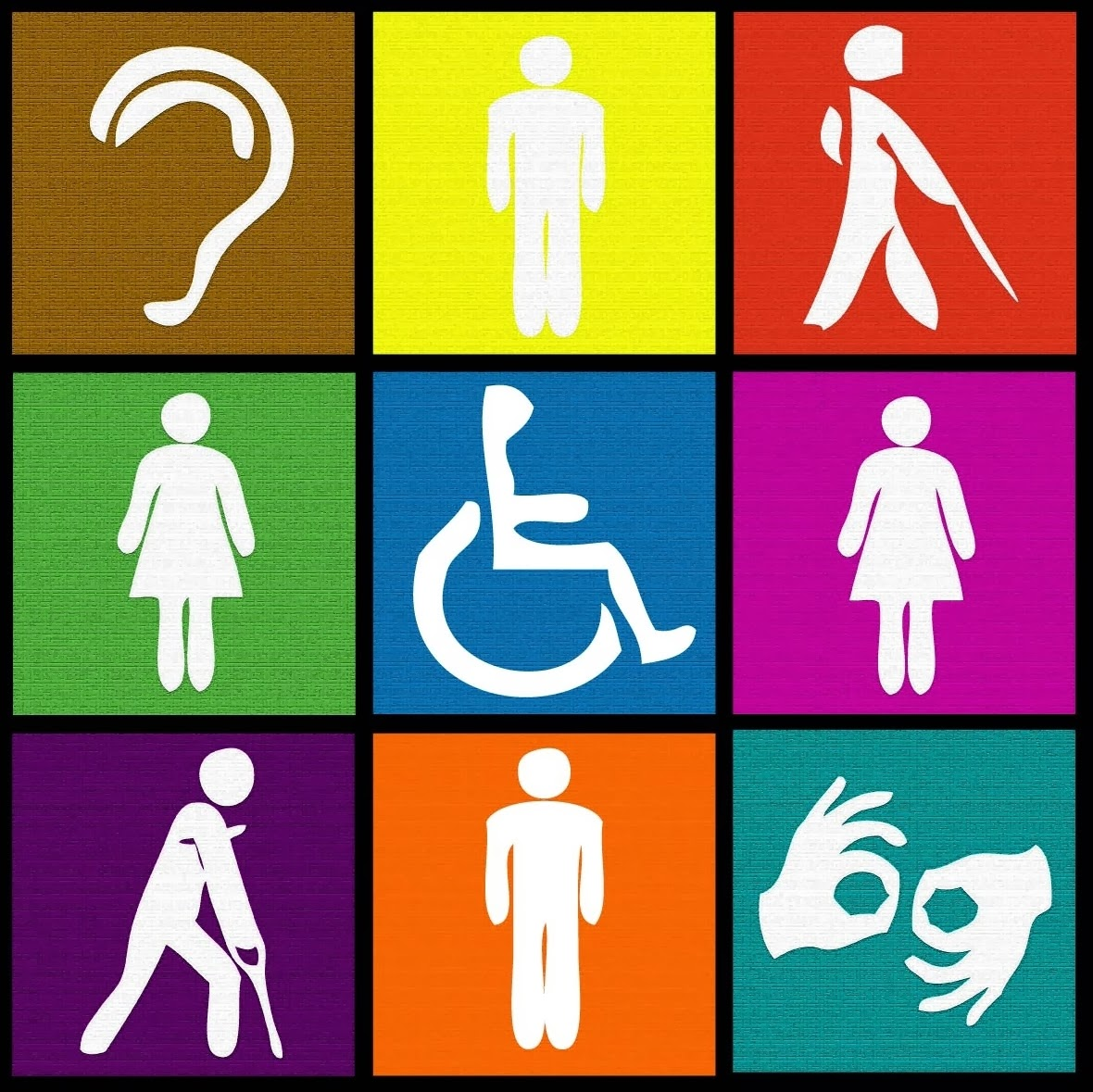 Icono Baño Minusvalidos:Persons with Disabilities
