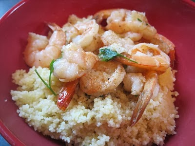 ... mixed stew: Thursday's Side Dish: Old Bay Shrimp Scampi with Couscous