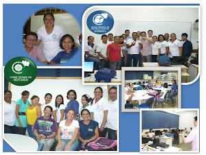 Visita dos Coordenadores de Curso no Polo de Itacoatiara.
