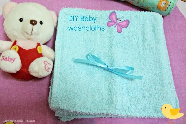 DIY Baby Washcloths