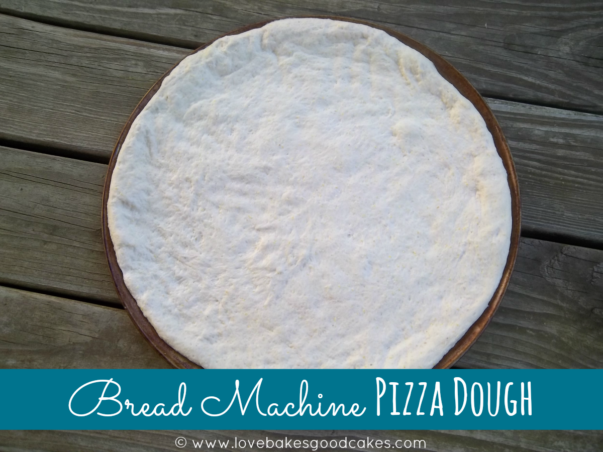best bread machine pizza dough