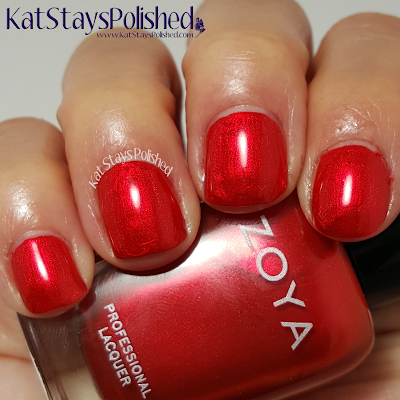 Zoya Flair 2015 - Ember | Kat Stays Polished