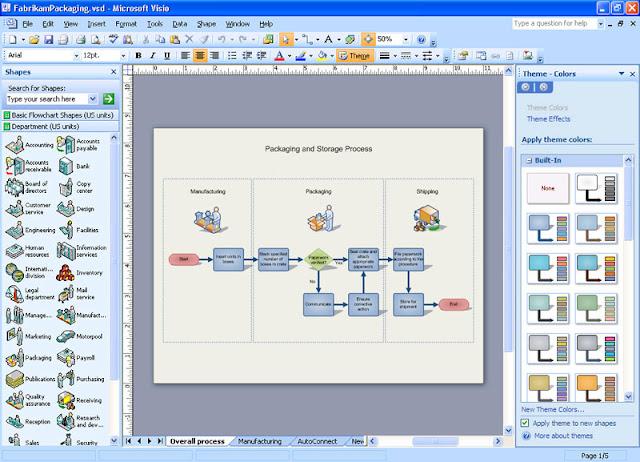 Software Aplikasi untuk Menggambar Topologi