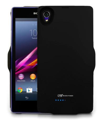 Il nuovo case per Sony Xperia Z1 della Mugen ha al suo interno una batteria supplementare da 3000 mah che raddoppia l'autonomia del phablet android dell'azienda giapponese