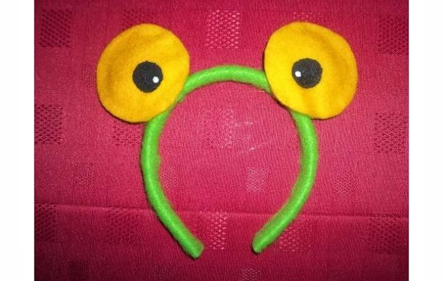 Frog Eyes Headband.