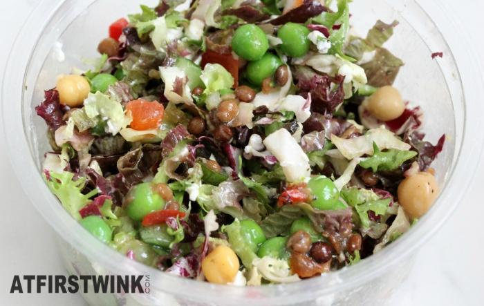 HEMA lentil salad mixed up