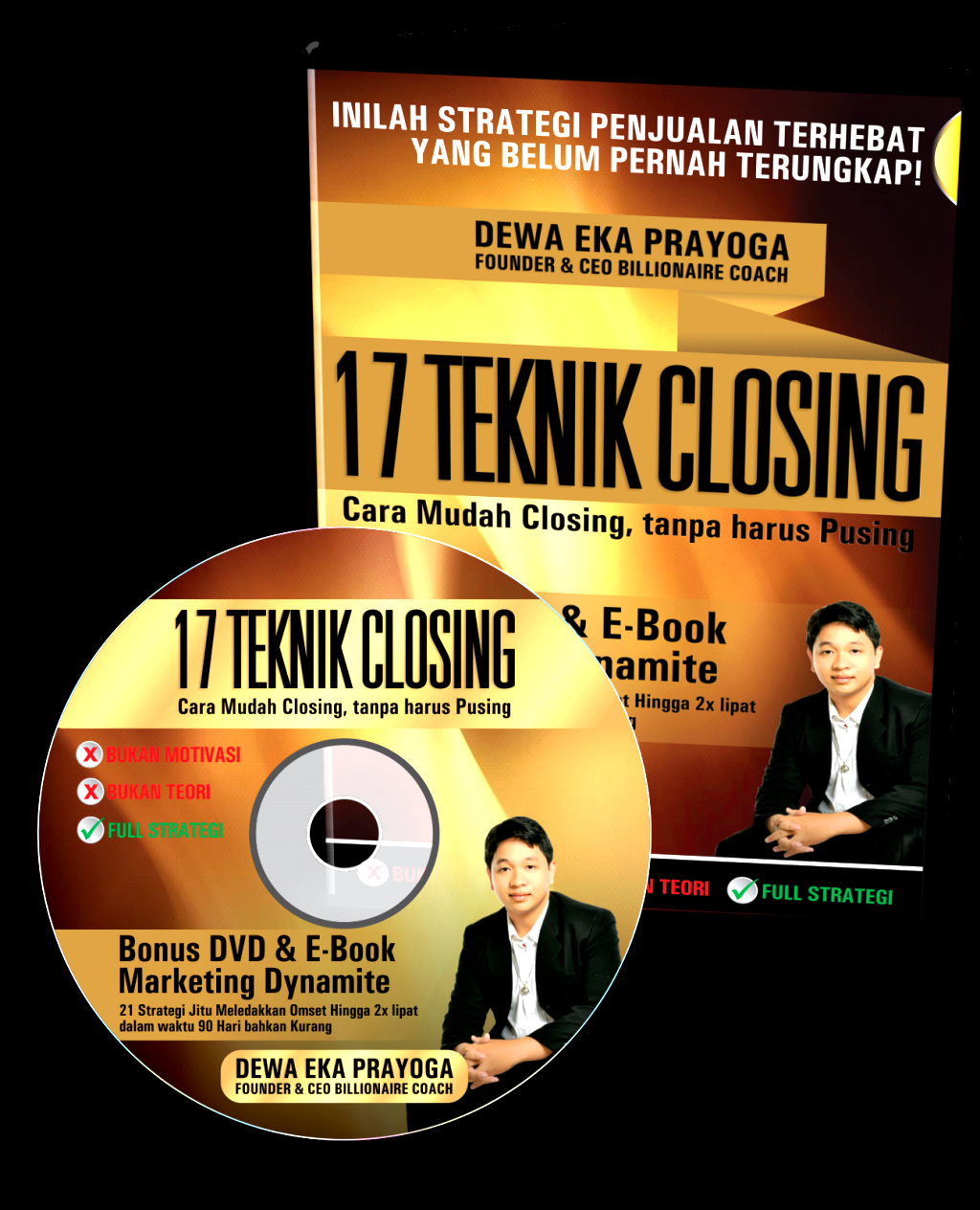DVD dan Ebook 17 Teknik Closing