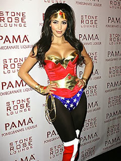 Kim karadashian wonder woman costume