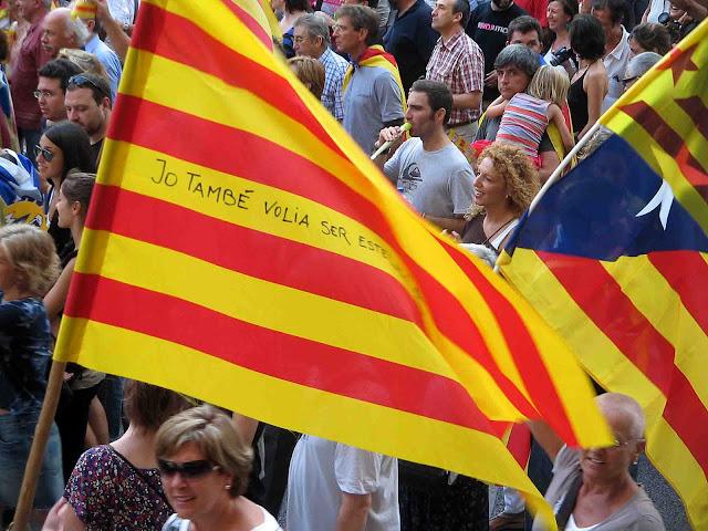 Manifestación de la Diada de Catalunya.