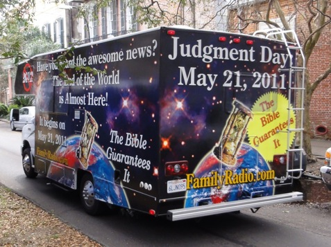may 21 judgement day. Final Judgment Day Coming! May