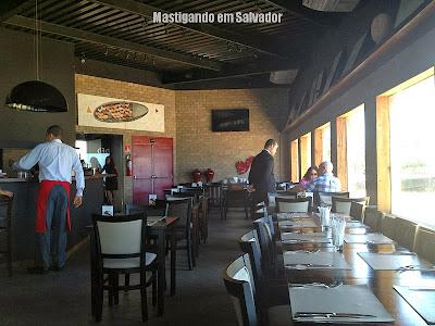 Red River Café: Ambiente interno