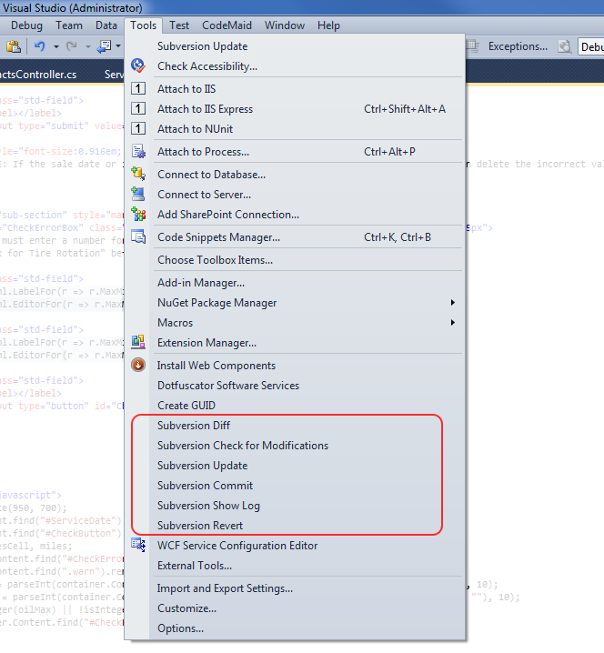 how to add command line arguments in visual studio