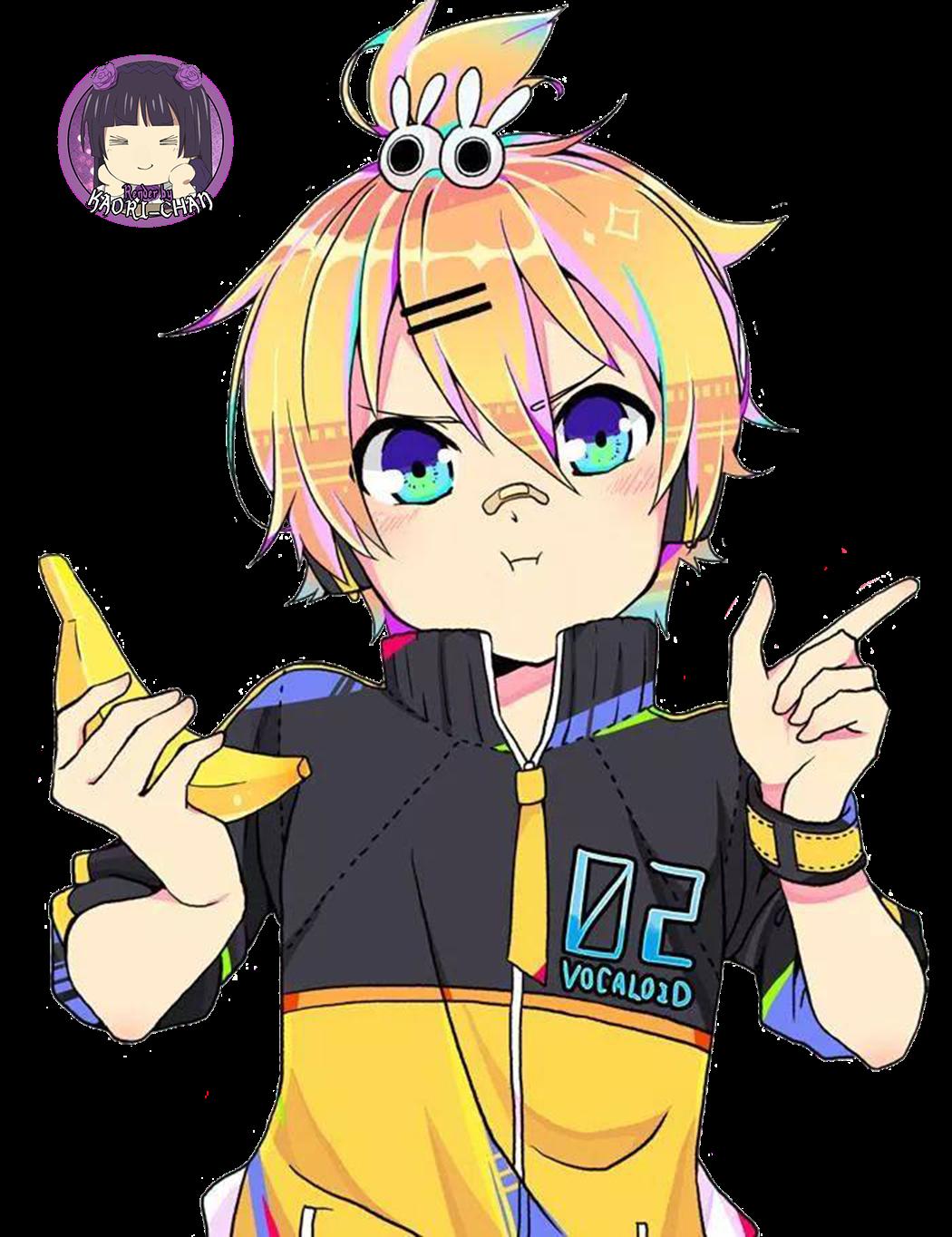 PNG-Len Kagamine // Vocaloid