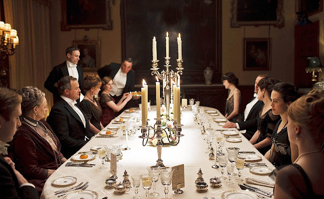Downton Abbey Meal Dinner Dining Table