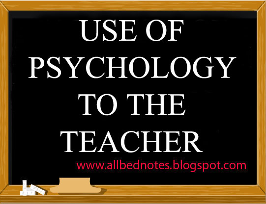 what uses educational psychology teacher